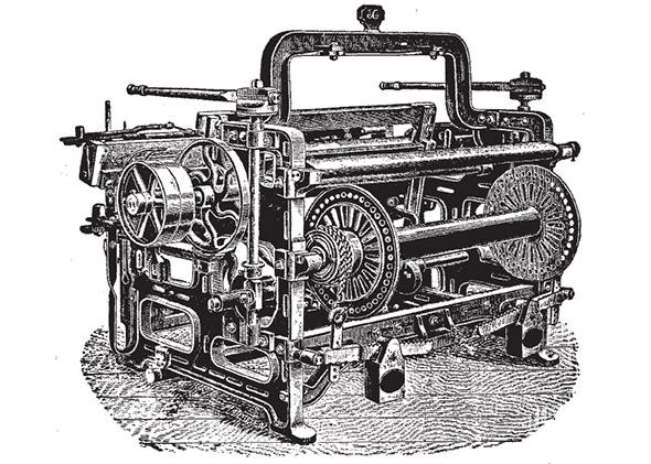 1895 Power loom.