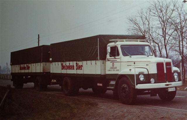 Bolk - historie Heineken biertransport KLEIN
