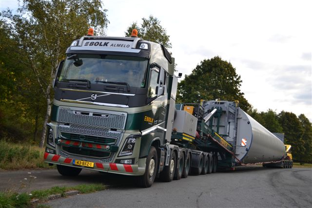 Bolk - windturbine transport 2015 KLEIN