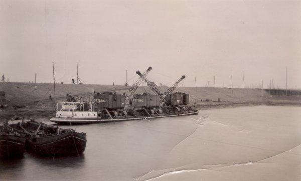 Graafwerk aanleg Twente- Rijnkanaal 1935