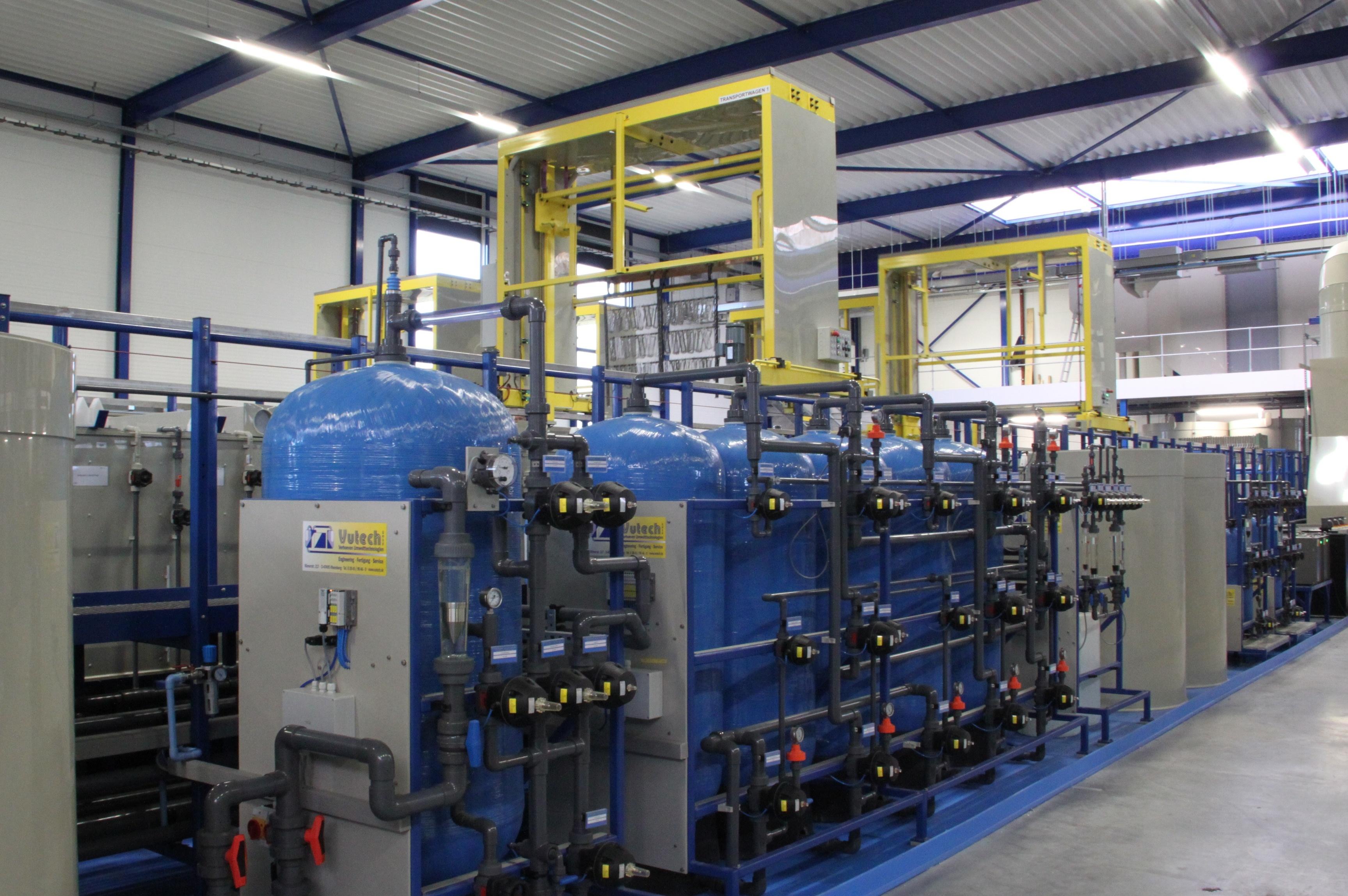 Ionenwisselaars, kringloopsysteem waterbehandeling