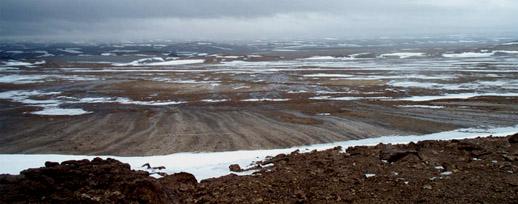 Laatste ijstijd poolwoestijn