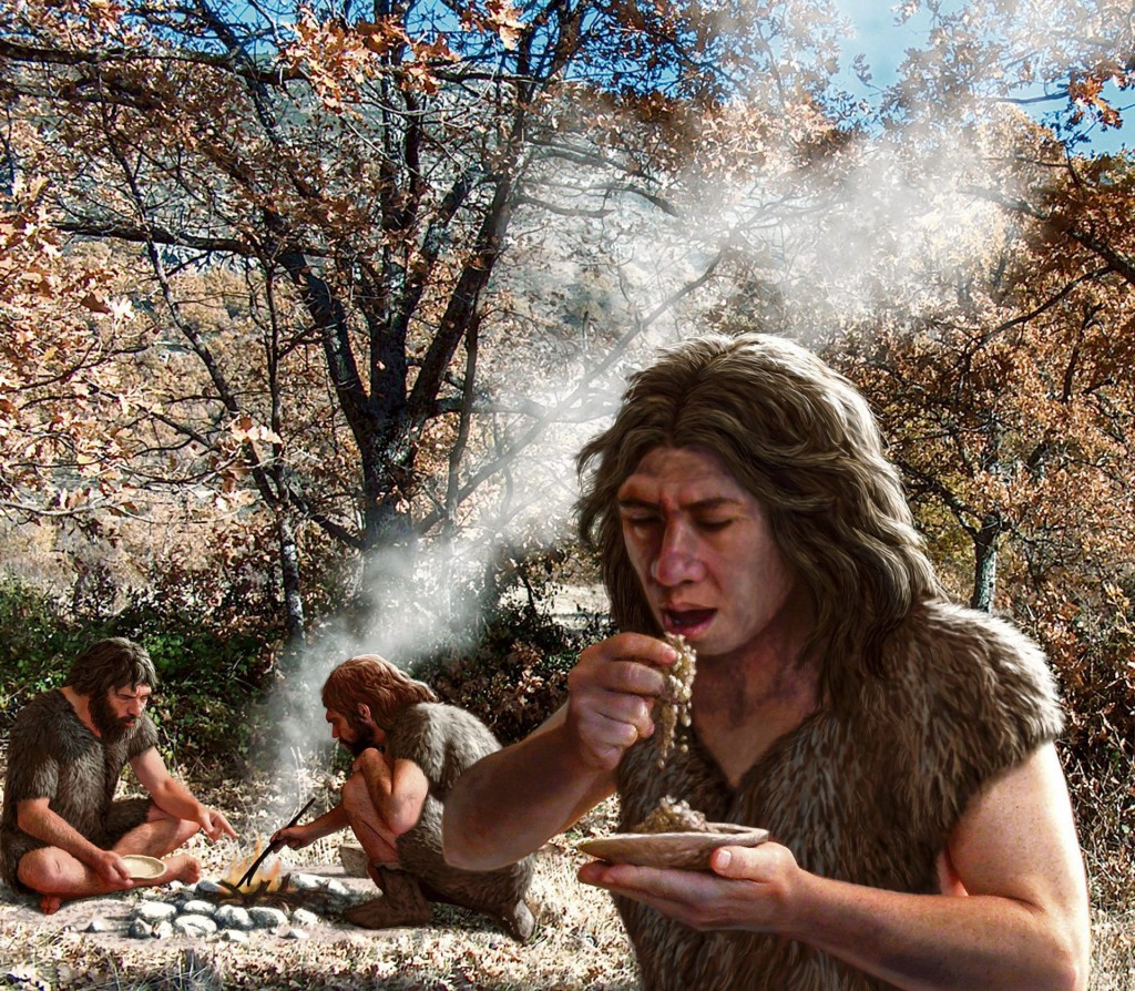 Neanderthaler illustratie Science Photo Library