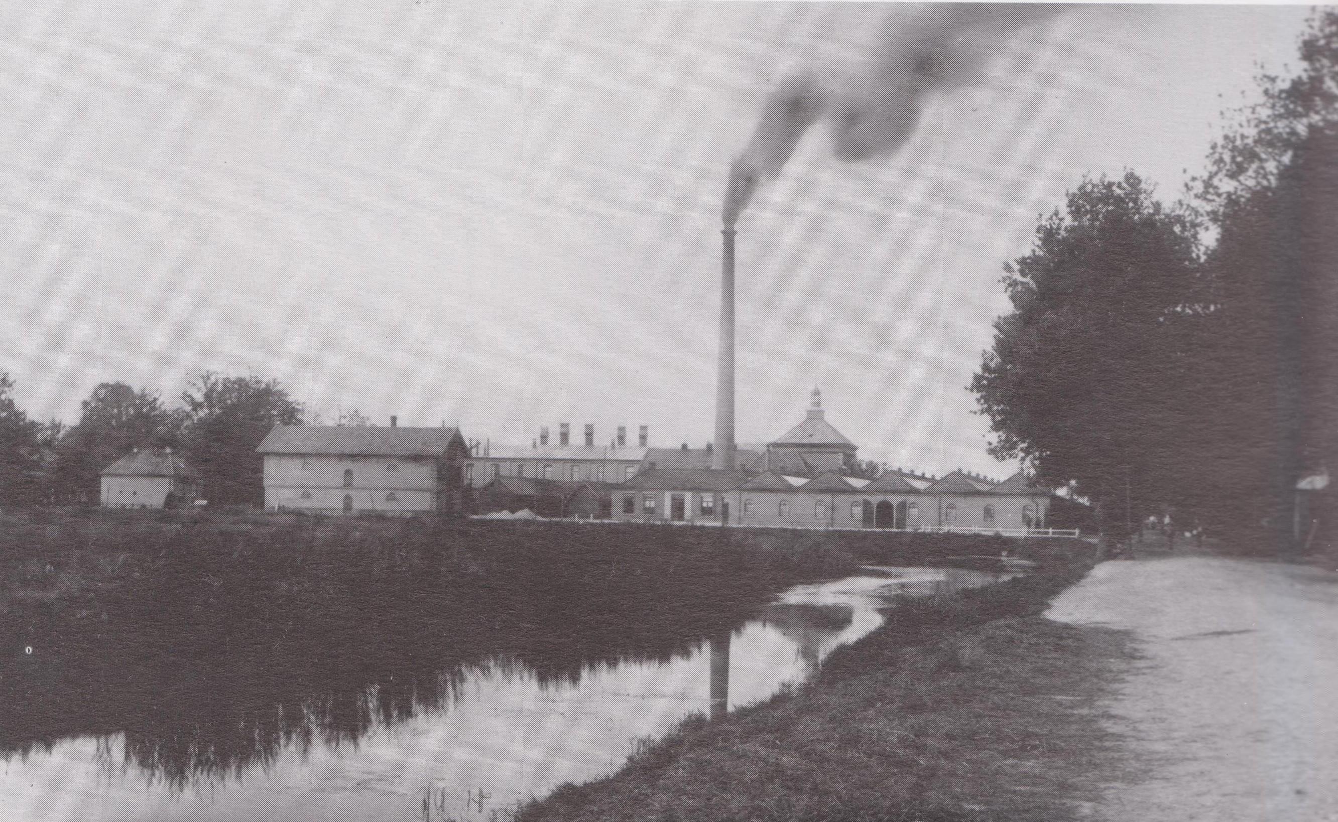 Oorspronkelijke gebouwen KSW