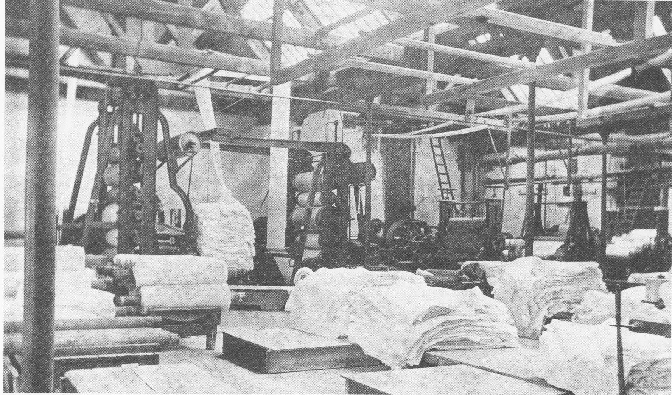 blekerij Goor houten constructie
