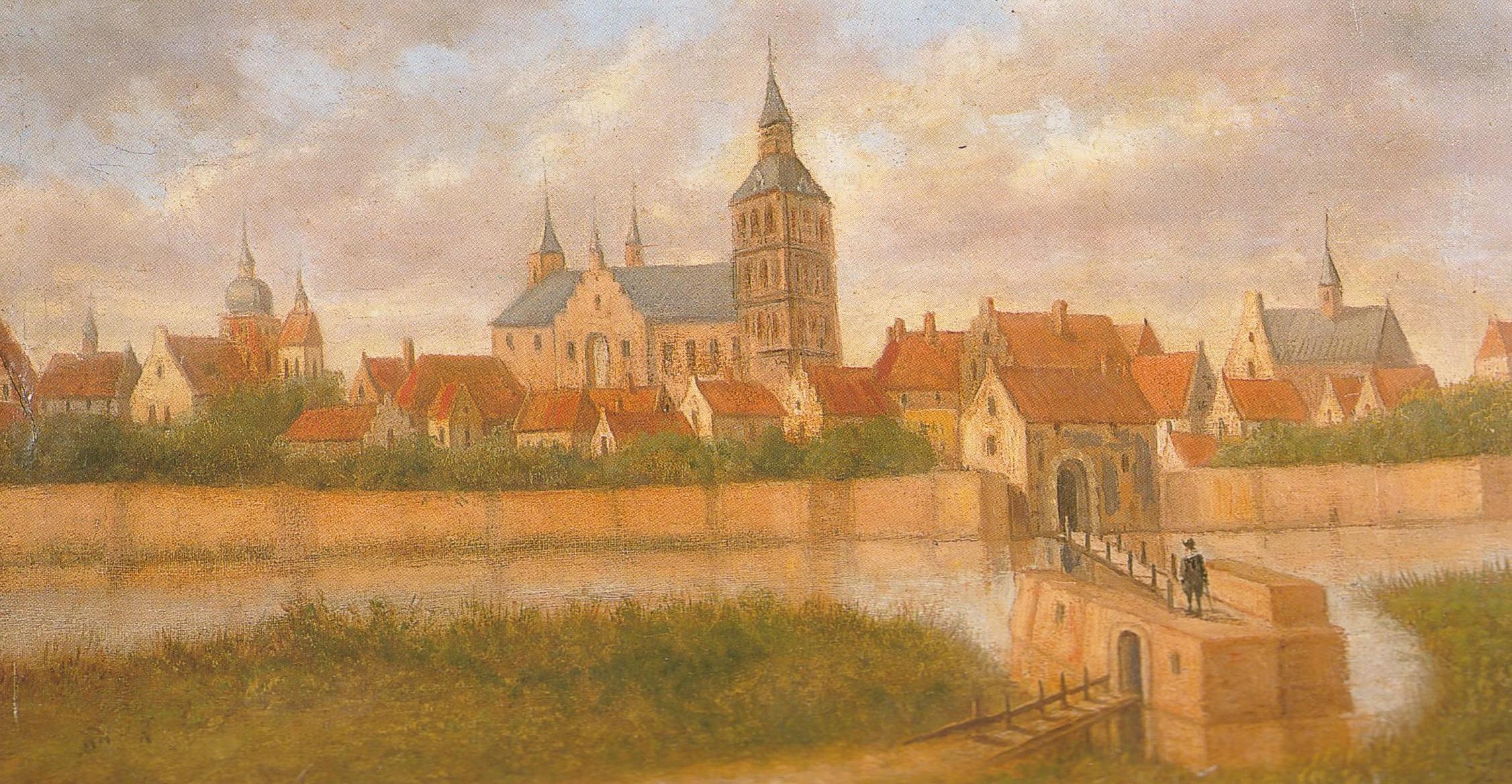 impressie Oldenzaal 16e eeuw