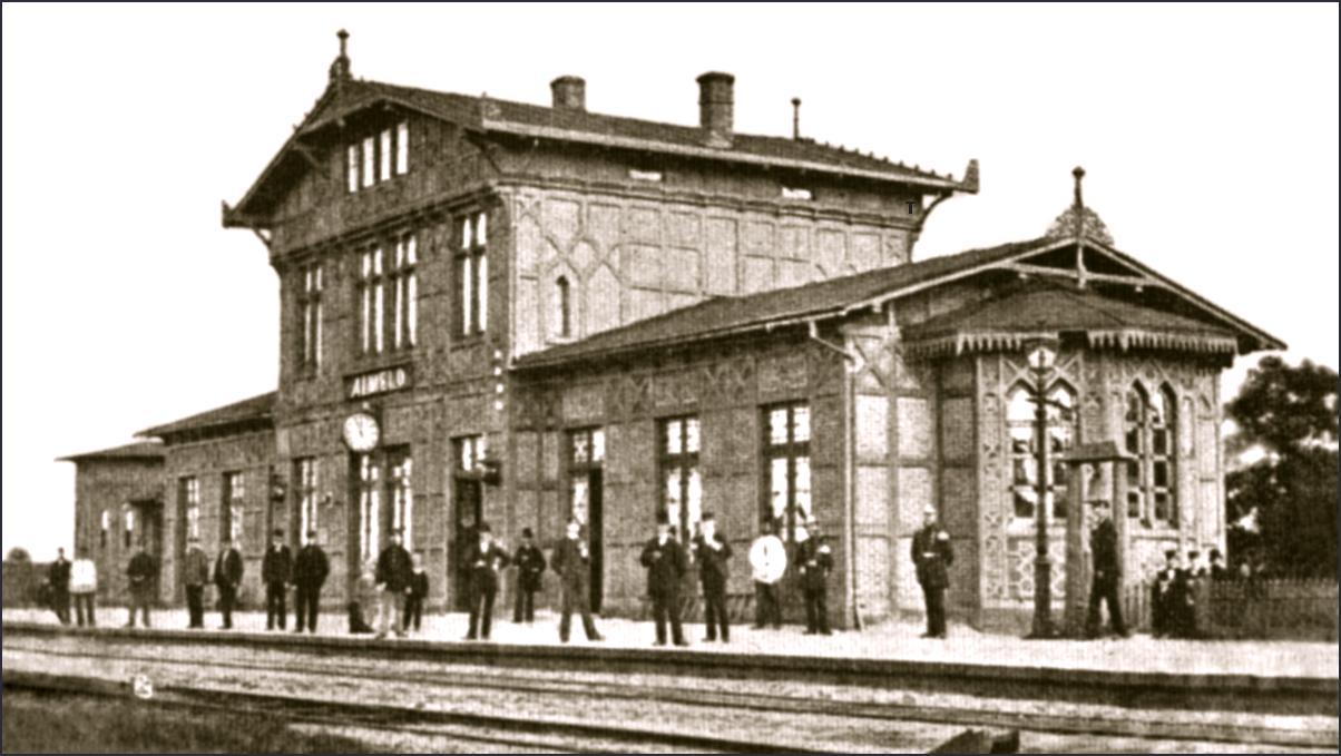 Station Almelo 1865 - 1882