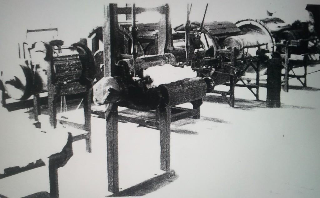 voorbereidingsmachines spinnerij